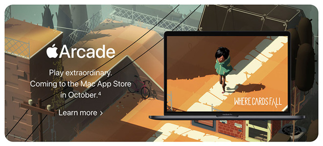AppleArcade在公开发布之前在macOSCatalinaGM中先行上线