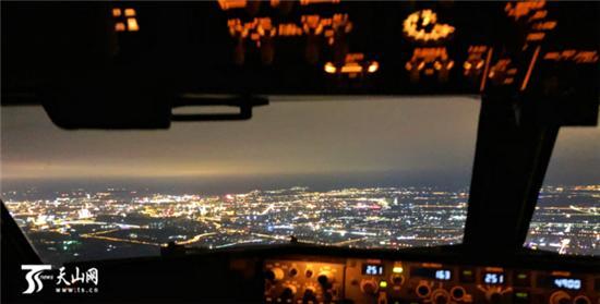 机长眼中的灯光秀:万米高空看盛世不夜天