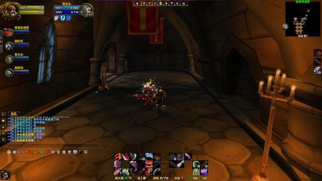 魔兽世界:竞技场1v1的局面,手里有血骑可以打到对面想退场!