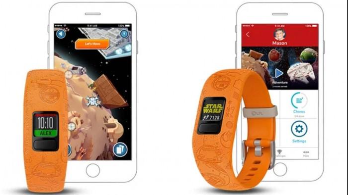 Garmin推出vívofitjr.2《星球大战》主题儿童追踪手环