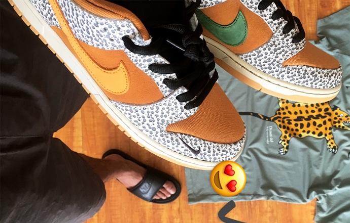 """大佬来了,atmos x Nike SB Dunk """"Safari""""坐实!"""
