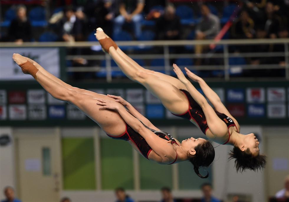 跳水运动员出泳池后,为什么都会淋浴看完才懂他们的不易