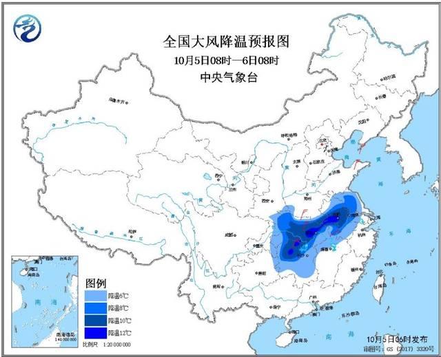 较强冷空气继续影响中东部地区西南地区东部陕西南部多阴雨天气华南南部有强降水