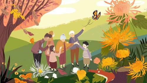 2019重阳节祝福语,关于重阳节敬老的唯美句子,重阳节感恩父母的句子