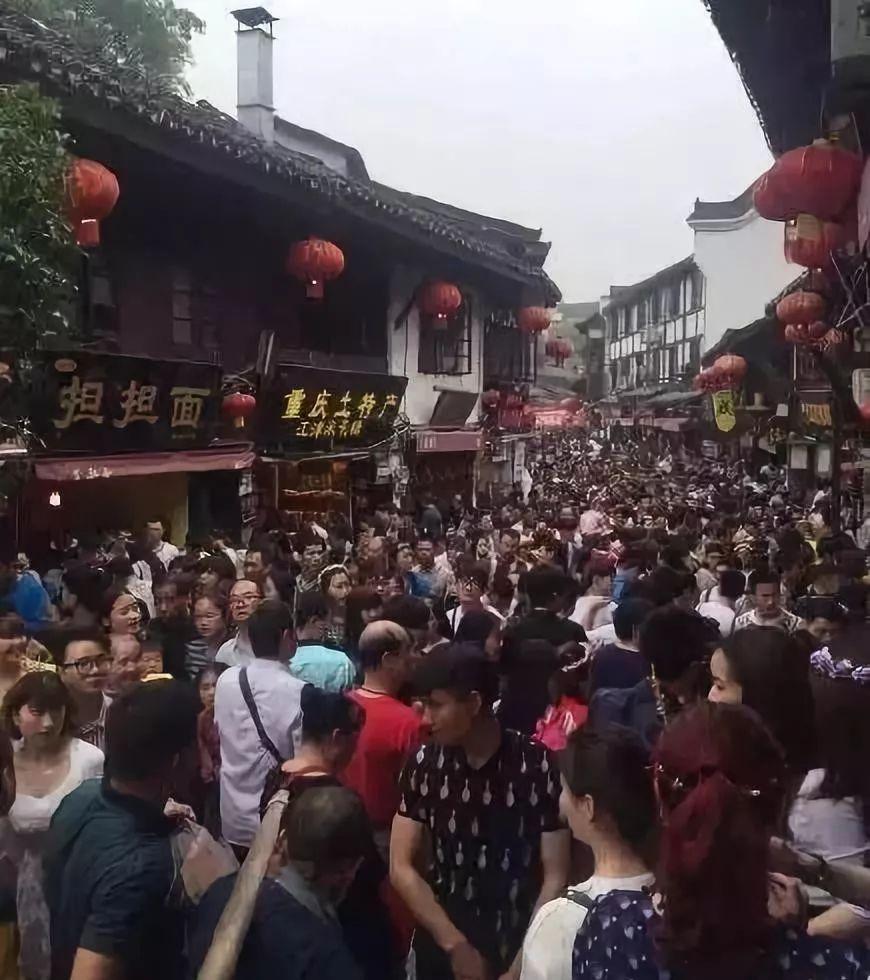 密集慎入 国庆节各大景点已成了这样 附商丘火车站最新情况