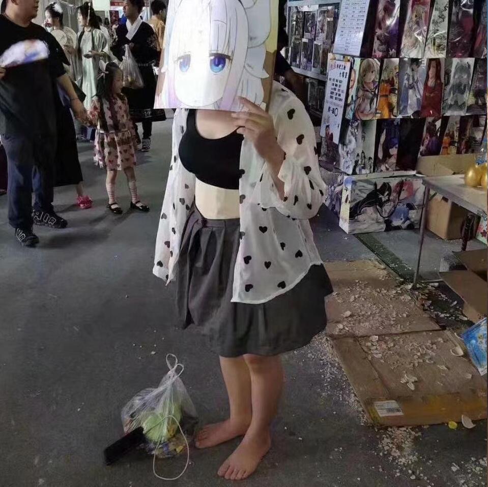 重庆西漫展女子COS乔碧萝,引来众人围观,网友 全场最佳