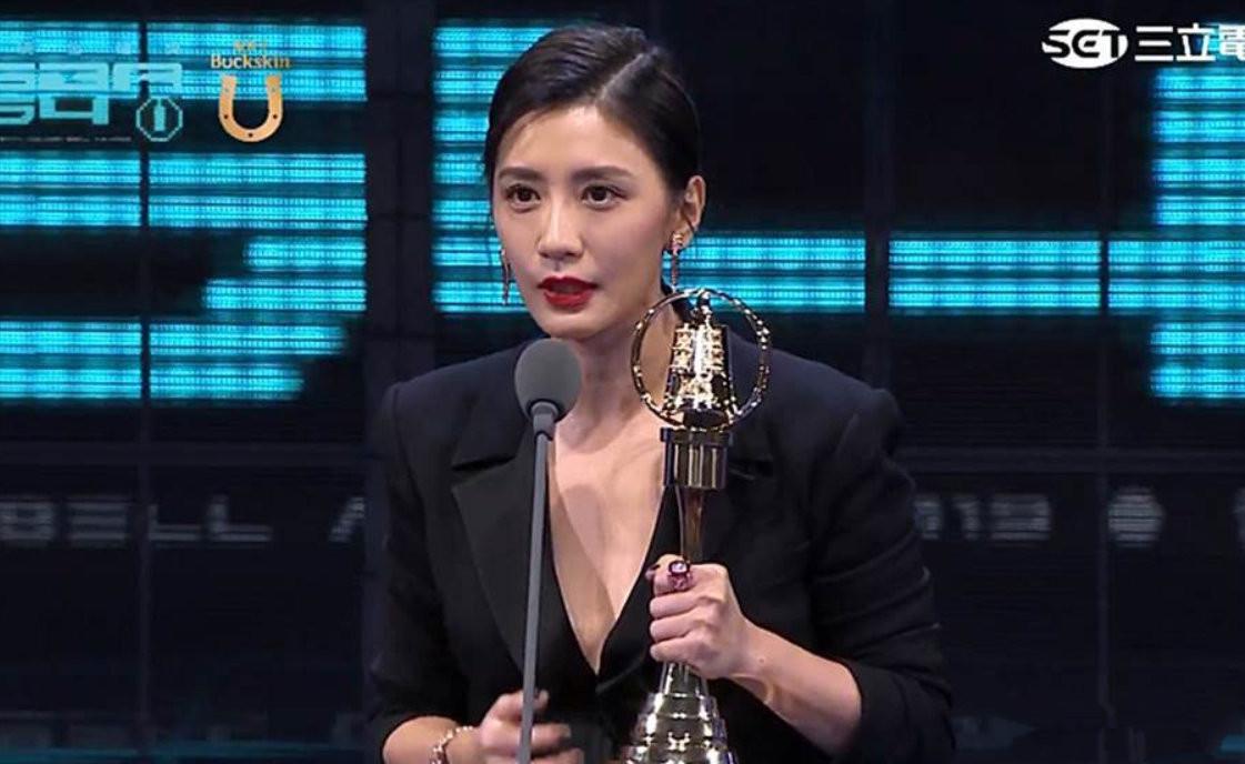 45岁贾静雯夺视后光彩夺目,背后却是台湾金钟奖越来越暗淡的现状