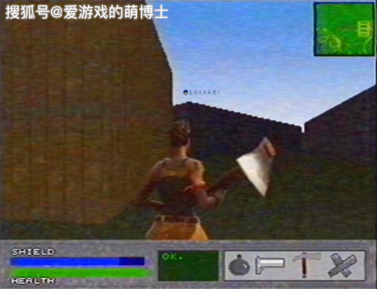 有点诡异,《塞尔达传说:荒野之息2》登陆N64主机是这样的