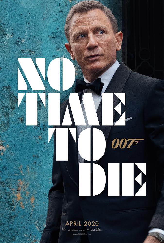 电影《邦德25》曝海报中文终定名《无暇赴死》