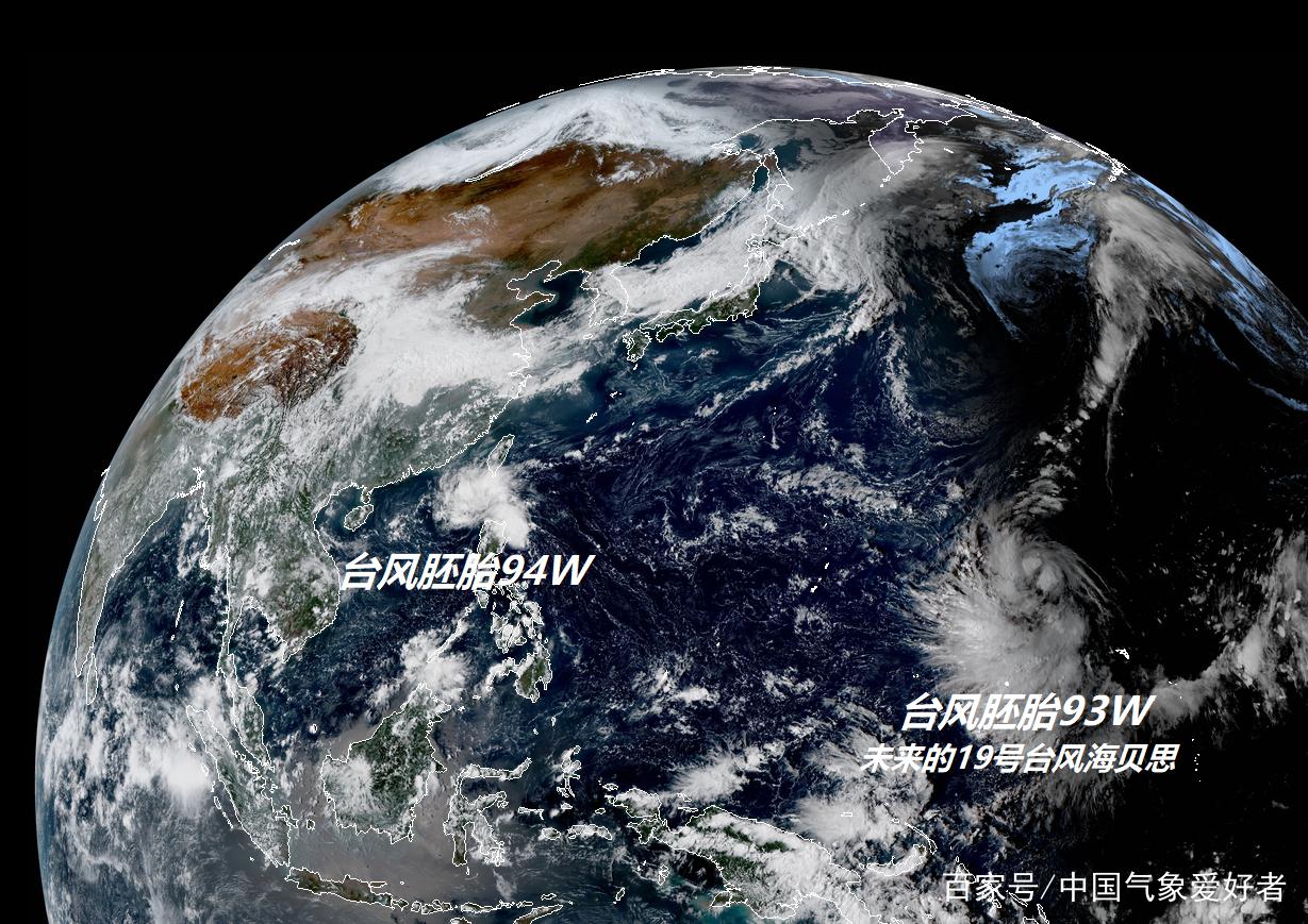 """19号海贝思生成在即,美国预测:年度""""台风王""""可能真要来了!"""