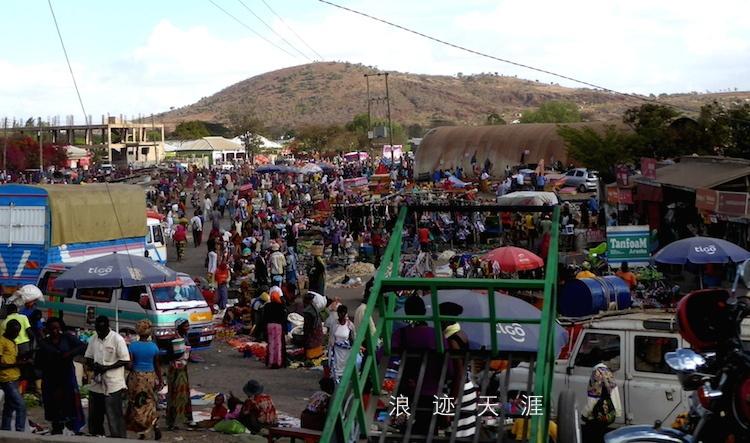 随拍坦桑尼亚小城阿鲁沙