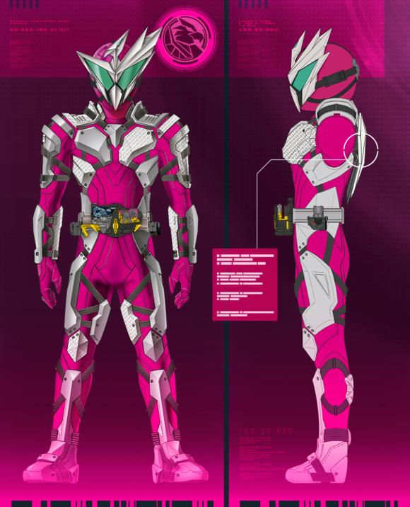 假面骑士01 设计图