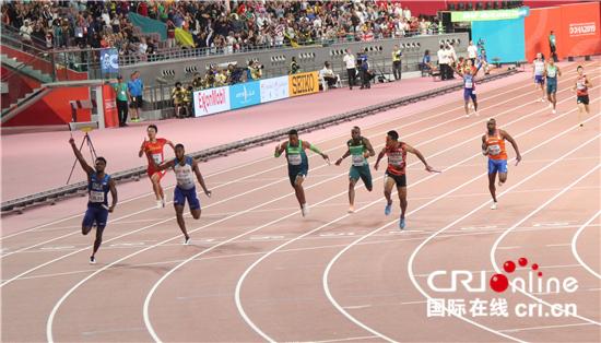 <b>多哈田径世锦赛4X100米接力决赛中国男队名列第六女队出现交接棒失误</b>