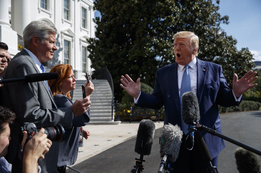 特朗普准备正式抵制国会调查:弹劾案将在参院流产
