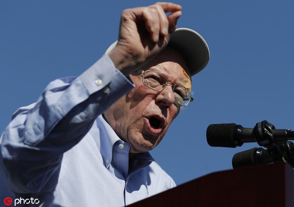美民主党总统参选人桑德斯出院 将重返竞选活动