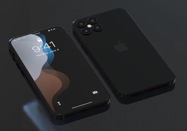 iPhone11S再曝全新渲染图,正面无刘海,浴霸四摄再现新造型