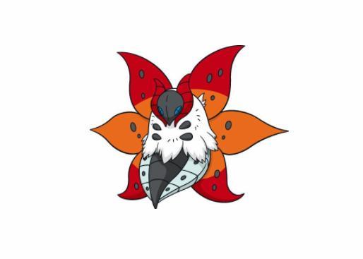 《精靈寶可夢》圖鑒637:身上的火焰可以代替太陽——火神蛾