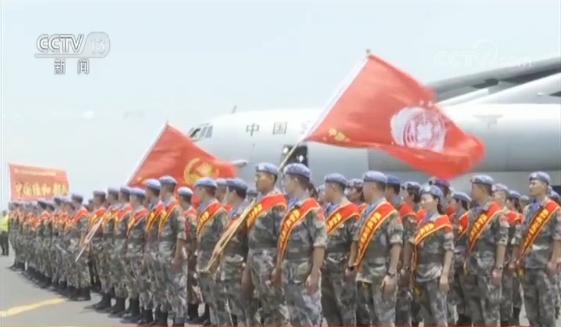 中国第23批赴刚果(金)维和工兵分队执行首项工程任务