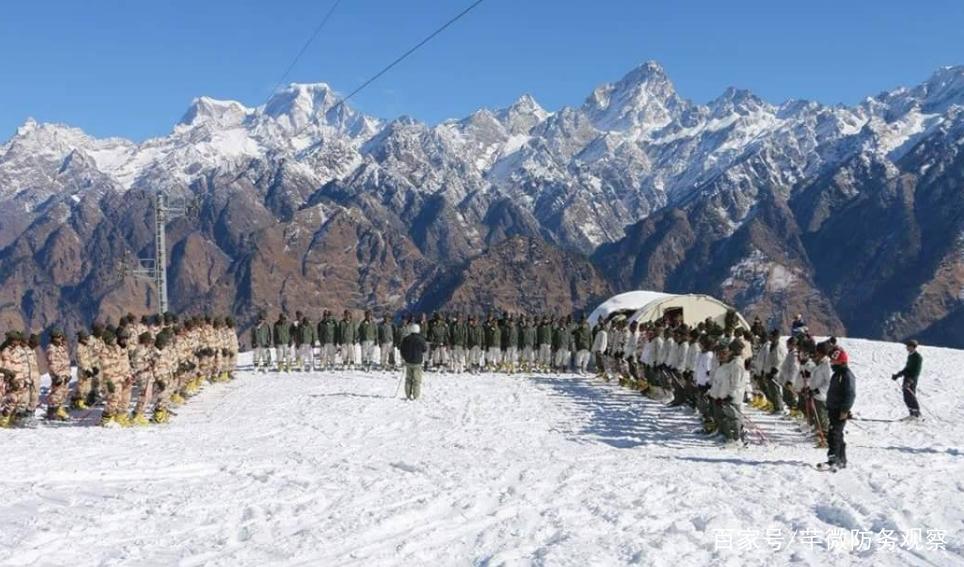 非常时期!印度王牌部队现身北部边境,巴基斯坦不是头号目标