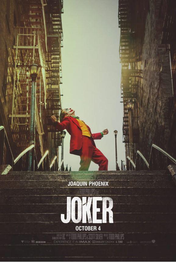 北美票房 《小丑》改写十月最佳开画票房纪录