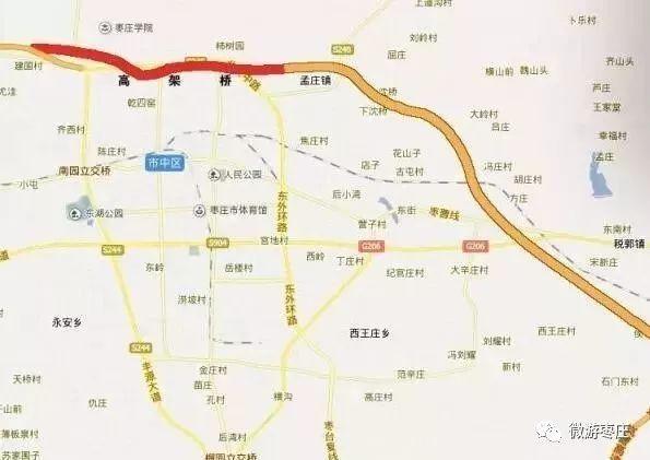 枣木高速东延线预计年底前可实现通车