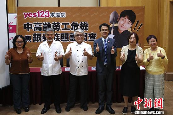 调查指台湾近八成中高龄劳工为照顾长辈曾考虑离职_求职