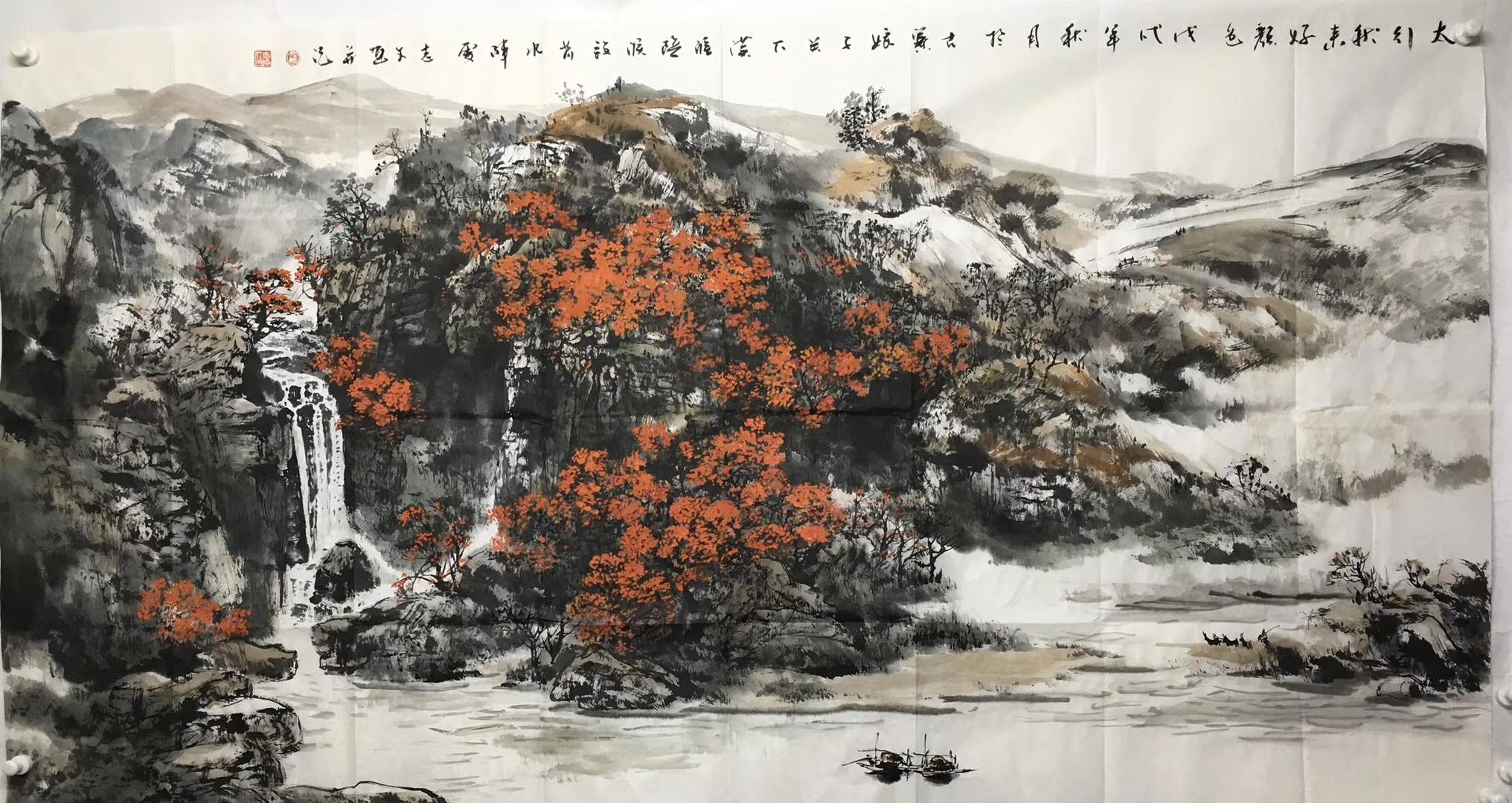 中国画家于志文国画作品欣赏