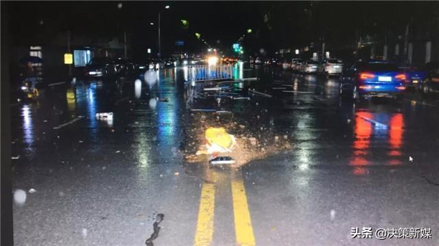 淅川公安:朋友聚会贪杯肇事 撞坏护栏总损失十余万