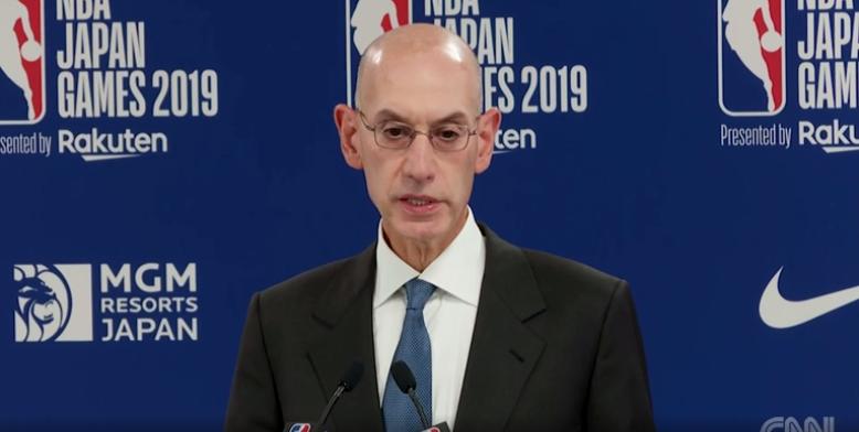 """NBA总裁肖华再次发表回应仍未道歉,明天将来上海""""交流"""""""