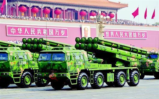 <b>真正的跨海利器,陆军新型大口径箱式火箭炮</b>