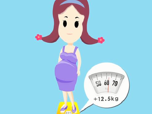 孕期体重增长标准_孕期体重增长标准是多少
