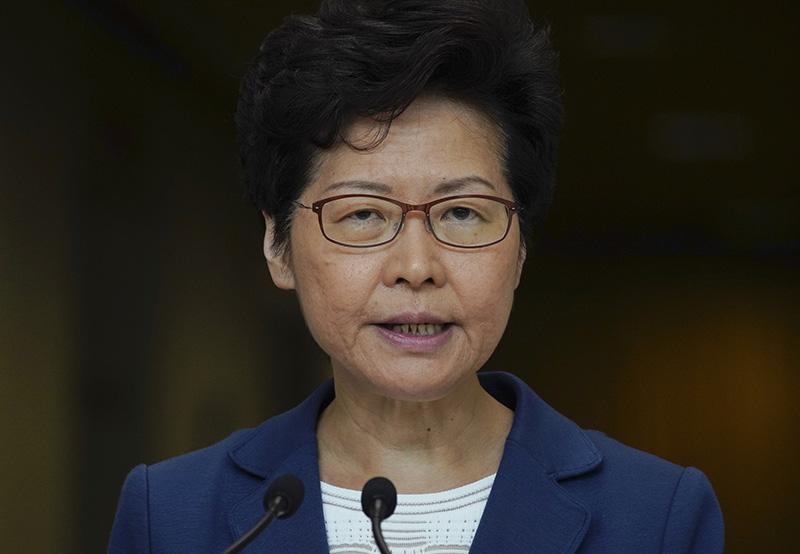 林郑月娥反击彭定康言论_香港