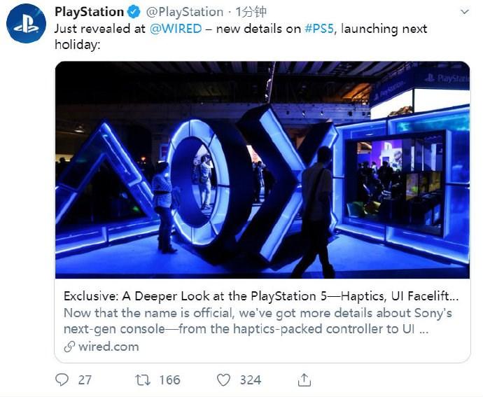 "索尼""官宣""PS5消息,2020年底发售"