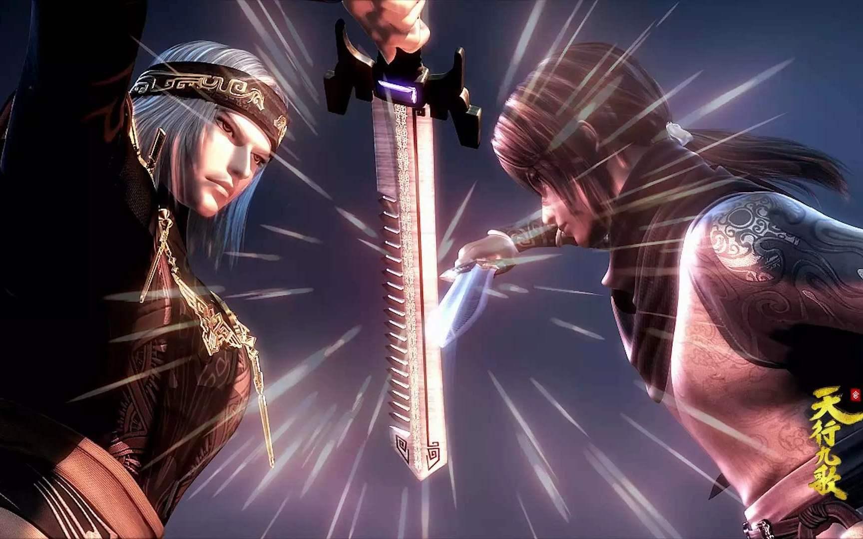 在剑术造诣已经同级别的卫庄,为什么还是无法战胜盖聂?_秦时