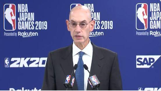 NBA总裁肖华最新声明仍未道歉!明天要来上海,称已知道姚明很生气