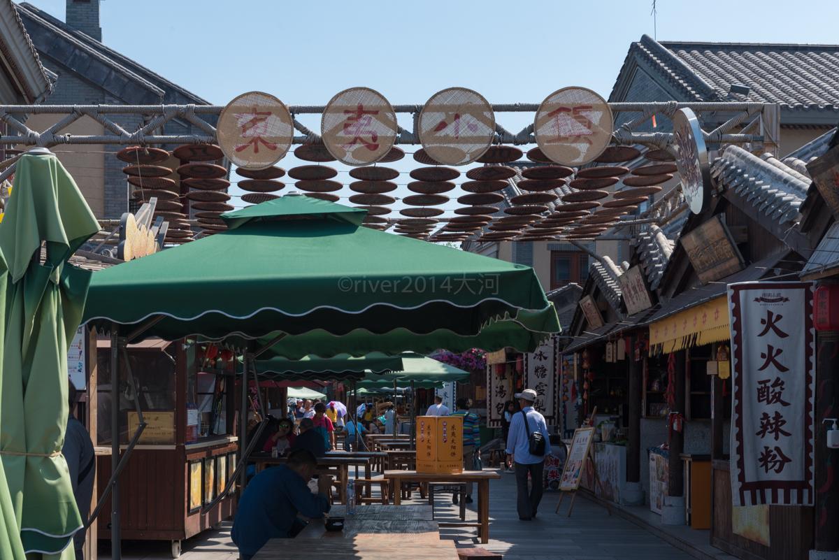原创             山东日照东夷小镇,海边风情小镇展现渔家文化