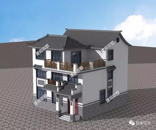 16x7二间房屋设计图