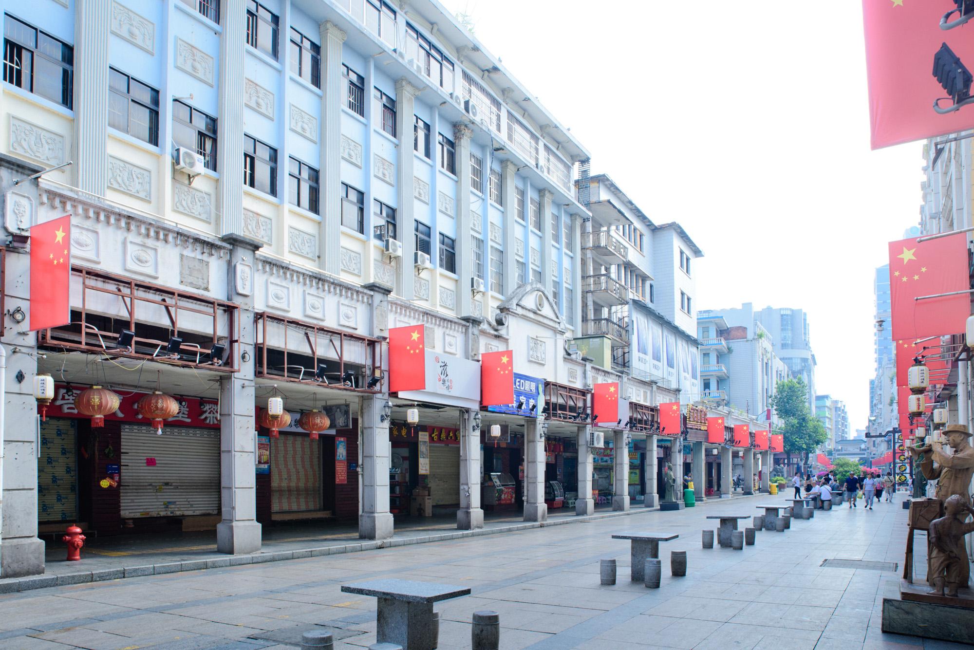 原创             广西有个极为低调的城市,拥有中国最大的骑楼城,央视都来取过景