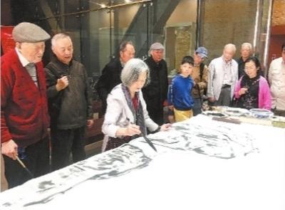 琴台耄耋七友书画展 主角是七位80岁老人