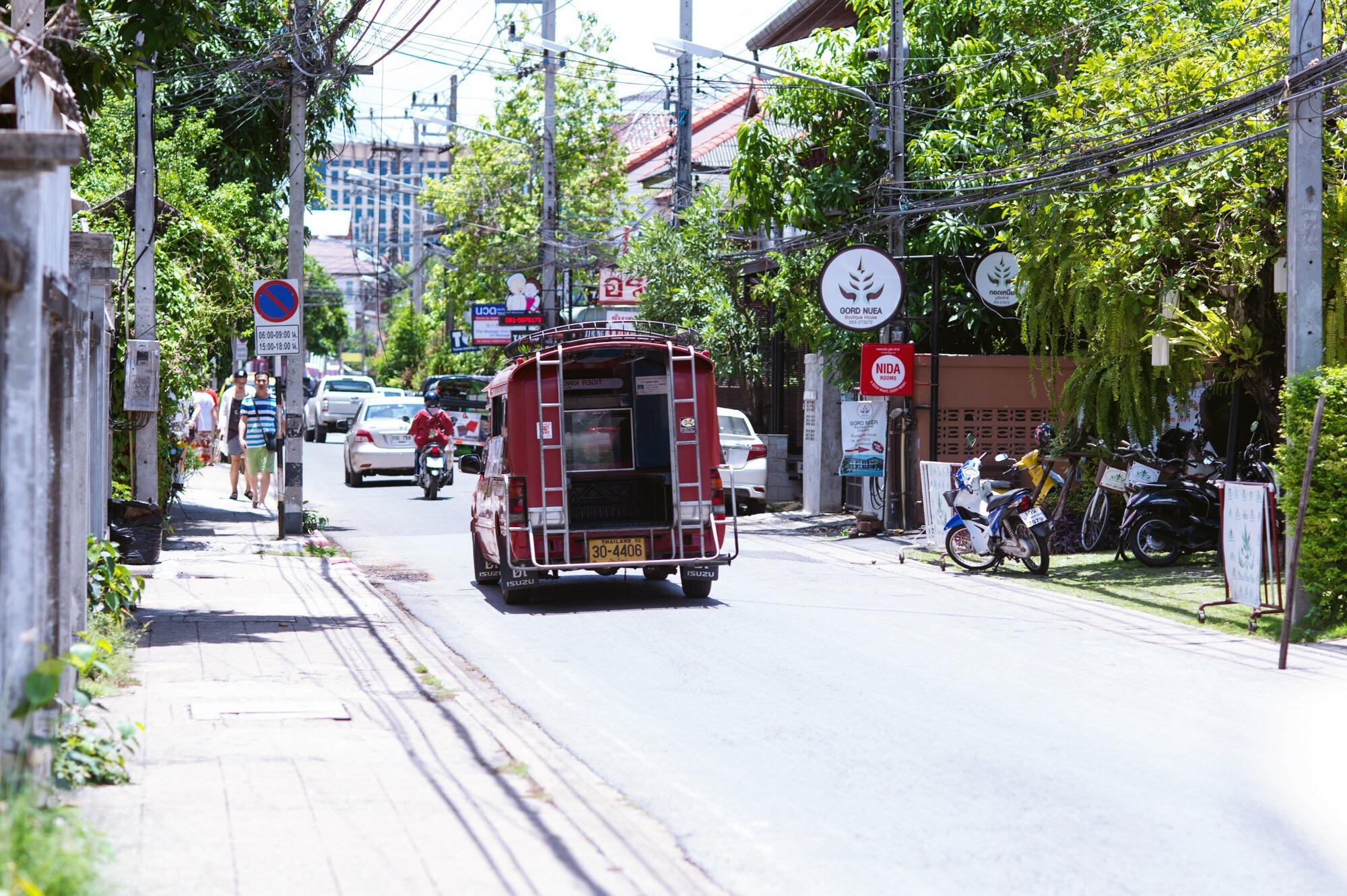 """原创             泰国网红城市,如今中国游客越来越少,外国游客:清迈成""""鬼城"""""""