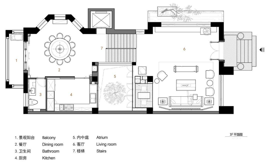 津南区清郁佳苑平面图