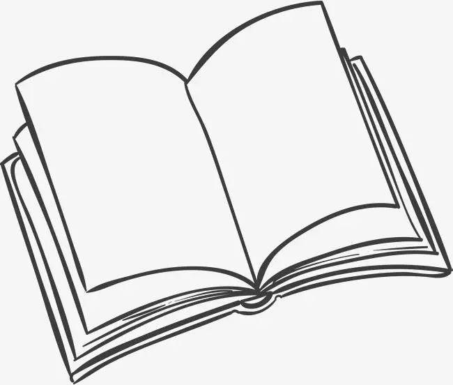 打开书的简笔画囹 a 打开的书简笔画彩色 打开的书简笔画立体 打开的书包
