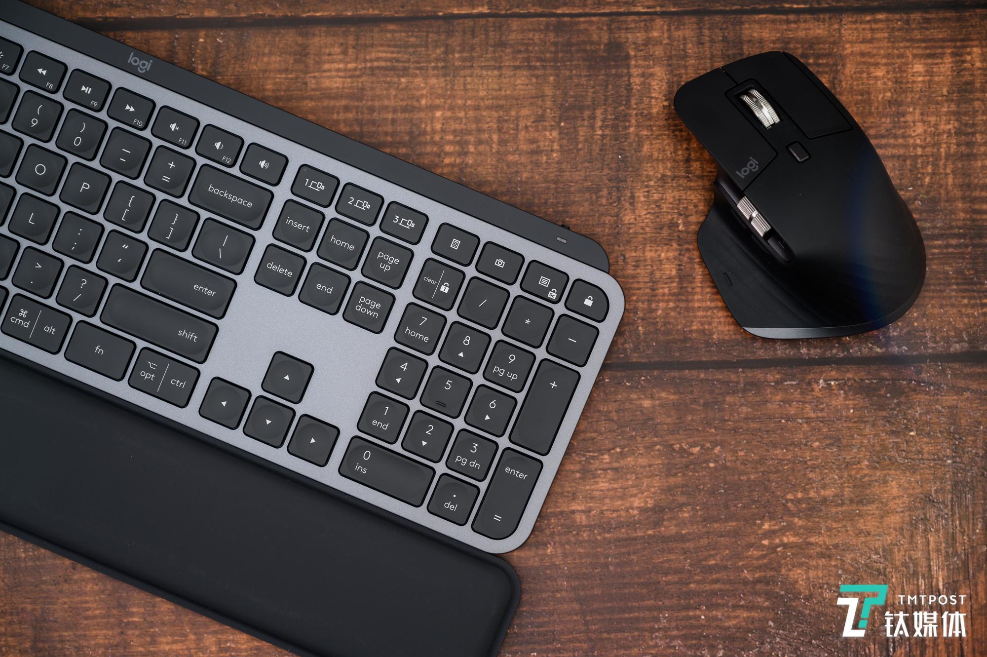 定制化功能提升生产力,罗技MX系列键鼠体验 | 钛极客_鼠标