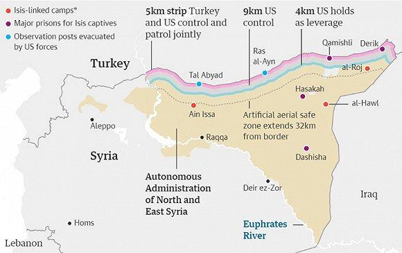 战争一触即发:土耳其军队即将跨越边境,特朗普邀埃尔多安访美