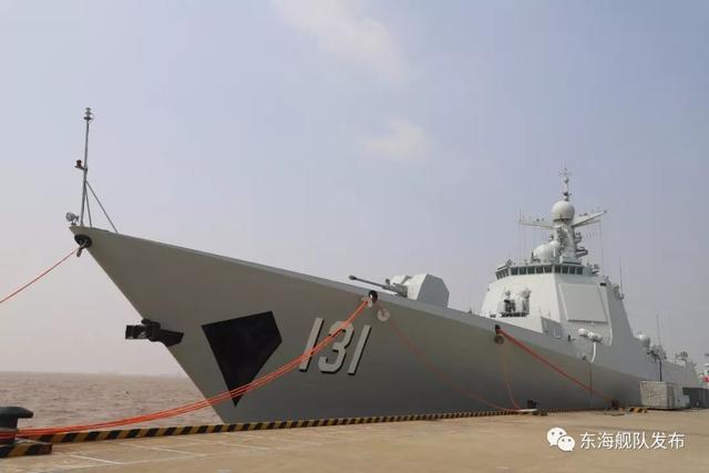 """日本阅舰式不邀请韩国,邀请中国,解放军派出这艘""""王牌""""战舰"""