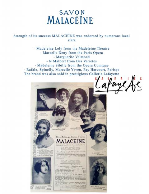 法国品牌玛乐轩MALACEINE复古传奇女星钟爱收藏品