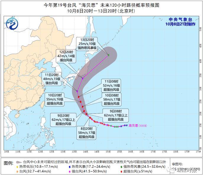"""来真的!超17级台风""""海贝思""""""""封王""""!2天后,冷空气直达东莞!"""