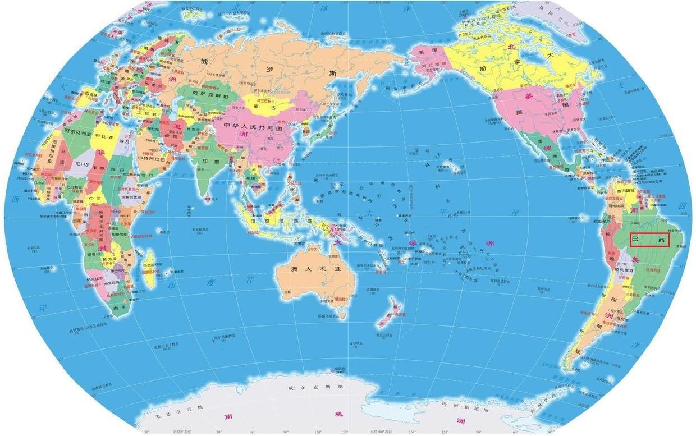 """原创             如何描述南美洲最大国家""""巴西""""的地理位置?"""