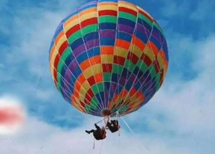 山东 惨剧 游乐场变夺命场 母子乘氢气球却飞向高空最终坠亡