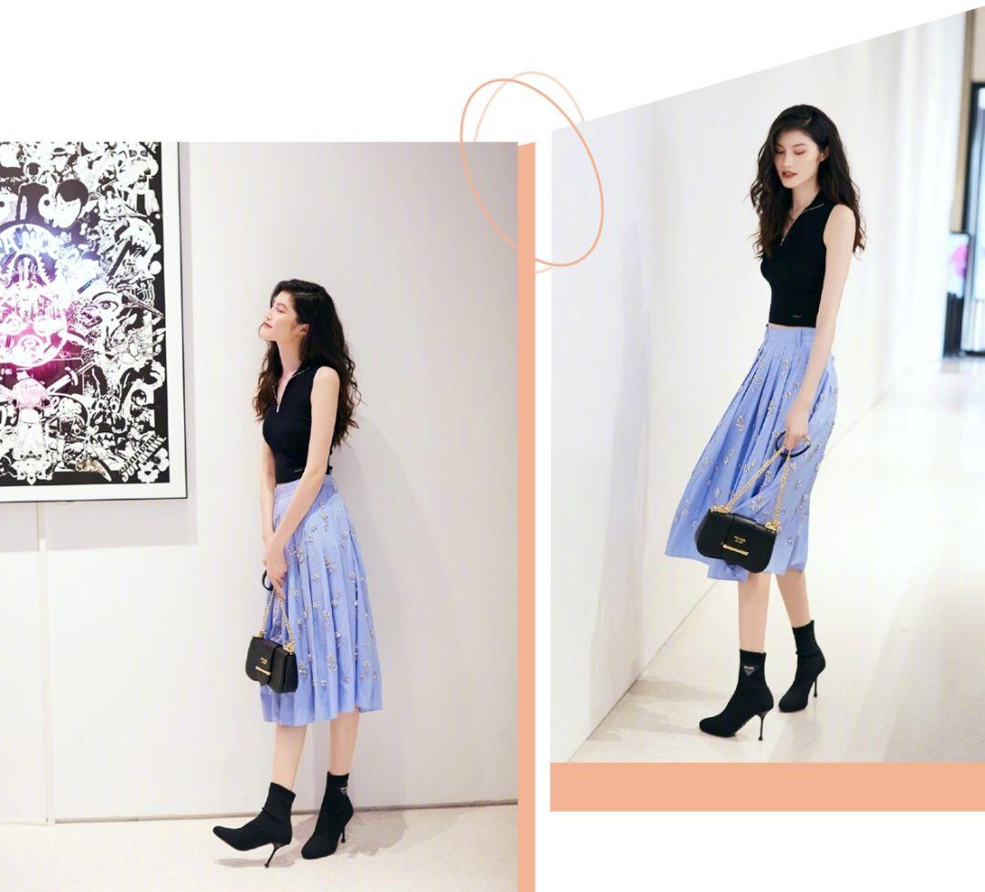 """""""裙子+靴子"""",2019下半年最流行搭配!再不穿就out了!"""
